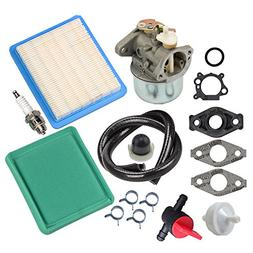 Panari 799869 Carburetor + Tune Up Kit Air Filter Fuel Valve