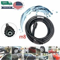 8M Washer Replacement Hose for 4000PSI Water Jet Power Washe