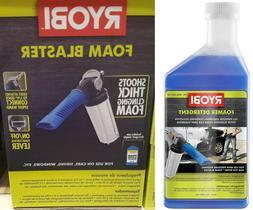 RYOBI Pressure Washer Foam Blaster Car Sliding Window Deck W