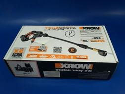 Worx Cordless Hydroshot Portable Power Cleaner Pressure Wash