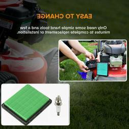 Air Filter Cleaner & Spark Plug Fit Honda GCV135 GC160 GC