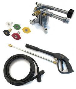 Annovi Reververi 2400 psi AR Pressure Washer Pump & Spray KI