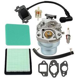 Hilom Carburetor with Fuel Air Filter Gaskets Spark Plug Ign