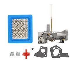 MOTOKU Carburetor Air Filter Fuel Clamp Carb For Briggs & St