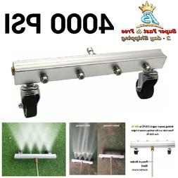 commercial power pressure washer water broom cleaner