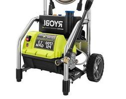 Electric Pressure Washer Ryobi 1700-PSI 1.2-GPM Max System P
