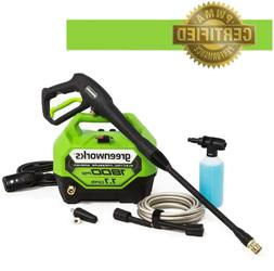 Electric Pressure Washer Cold Water 1800 PSI Lightweight Por