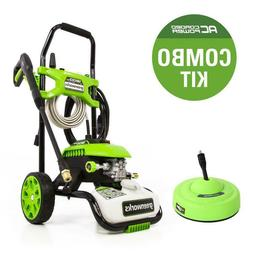 Electric Pressure Washer Cold Water Powerful Light-duty Outd