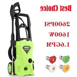Tagorine Electric Pressure Washer, Power Washer with 2600 PS