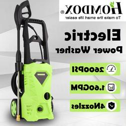 Homdox Electric Pressure Washer Power Cleaner with 2600PSI 1