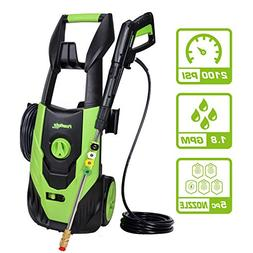 PowRyte Elite 2100 PSI 1.80 GPM Electric Pressure Washer, El
