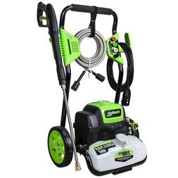 PowRyte Elite 2100PSI 1.8GPM Electric Pressure Washer, Elect
