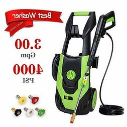 PowRyte Elite Electric Power Washer, Pressure Washer with 5.