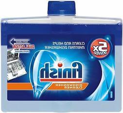 Finish Dishwasher Cleaner, Fresh, 8.45 oz Bottle, 6/Carton -