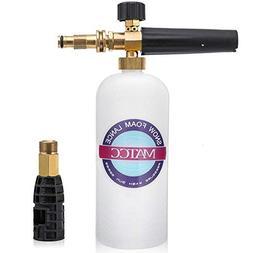 MATCC Foam Cannon for Sun Joe Adjustable Snow Foam Lance for