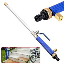 Garden Hose High Pressure Spray Wand Attachment Nozzle Power