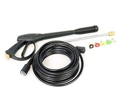 Gas High Pressure Washer Spray Gun, Wand/Lance, Nozzle & Hos