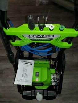 GreenWorks GPW2001 2000 PSI Horz PRS Washer - Green