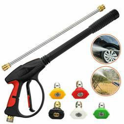 High Pressure 4000PSI Car Power Washer Gun Spray Wand Lance