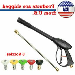 High Pressure 4000PSI Car Power Washer Spray Gun Wand/Lance