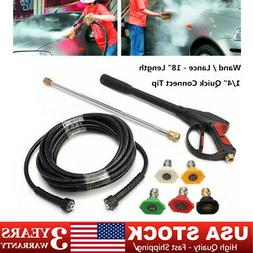 High Pressure Car Power Washer Kit 2000PSI 7 GPM Spray Gun 8