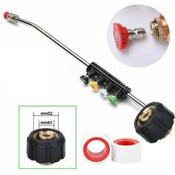 High Pressure Car Power Washer Spray Gun Wand/Lance Nozzle T