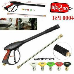 High Pressure Car Power Washer Spray Gun Wand Lance Nozzle T