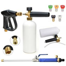 High Pressure Car Power Washer Spray Gun Wand Lance Nozzle S