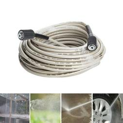 High Pressure Flexible Power Washer Extension Hose 4,000 PSI