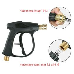 High Pressure Power Washer Gun Water Jet 3000 PSI for Car Ga