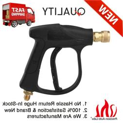High Pressure Power Washer Gun Water Spray Wand Brass Fittin