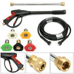High Pressure/Power Washer Spray Gun, Wand/Lance&Nozzle Kit