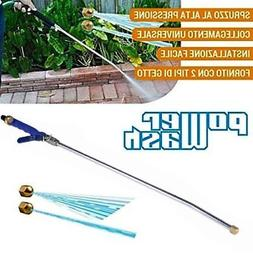 High Pressure Power Washer Spray Nozzle ! Water Hose Wand At
