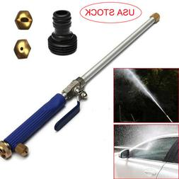 High Pressure Power Washer Water Spray Gun Nozzle Wand Attac