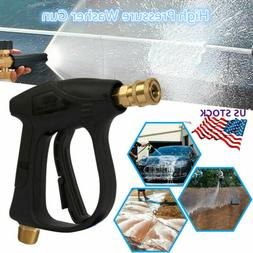 High Pressure Car Yard Washer Gun Jet Water 3000 PSI For Pre