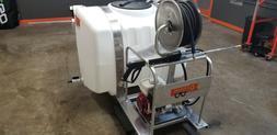 Honda Powered Commercial Pressure Washer Skid - All Aluminum