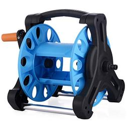 TRIEtree Hose Reel,Single Arm Multifunctional Garden Hose Re
