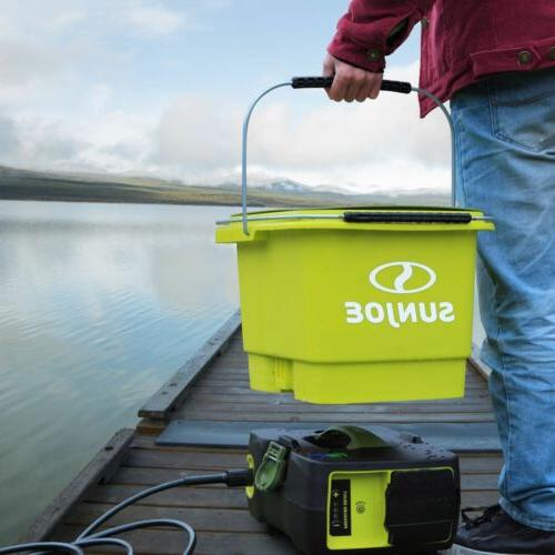 1160 psi 40V Ion Cordless Pressure Washer SUN JOE SPX6000C-X