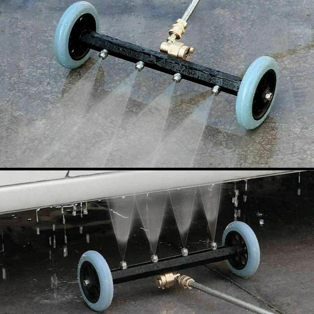 2-in-1 Water Surface Cleaner Power Driveway Pressure