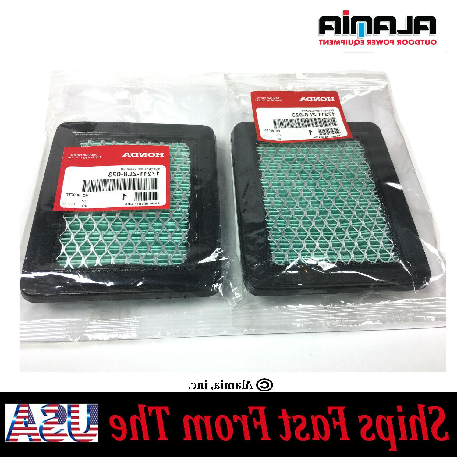 2 genuine oem air filter 17211 zl8