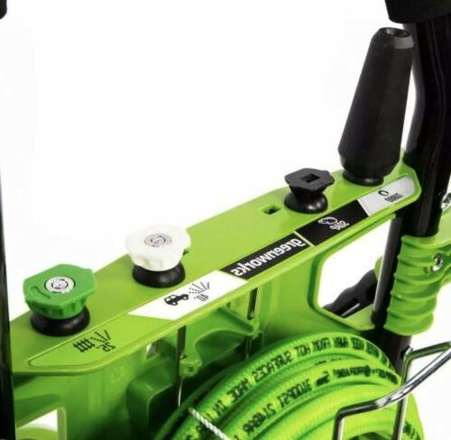 Greenworks PSI Electric Pressure Washer Amp New