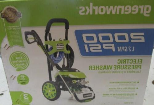2000 psi electric pressure washer powerful 13