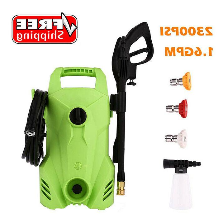 2300psi 1 6gpm electric pressure power washer