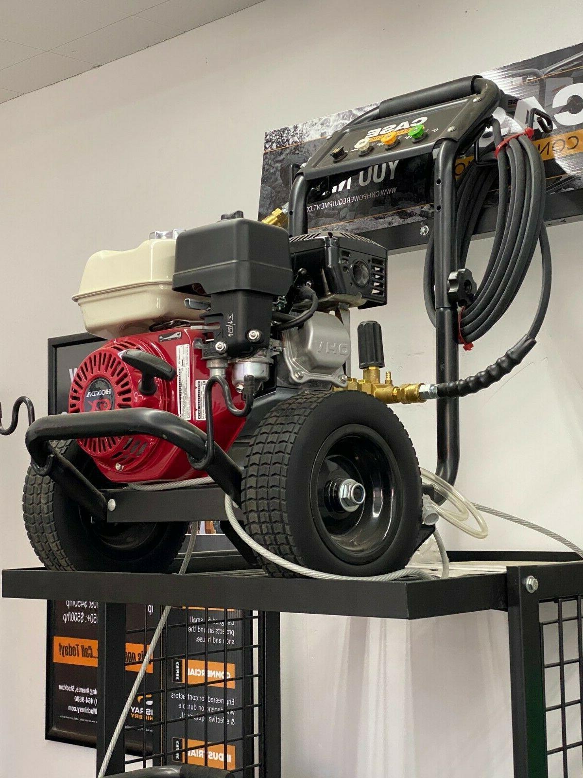 Power washer w/196cc GX200 OHV