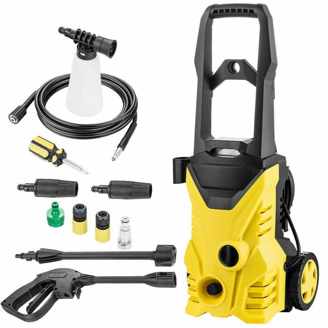 3000PSI 1.8Gpm Electric Pressure Power Washer Hose Tank Cleaner