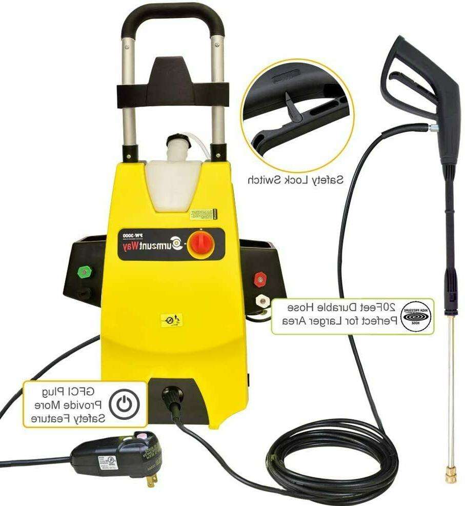 3000psi electric pressure washer 1 6gpm electric