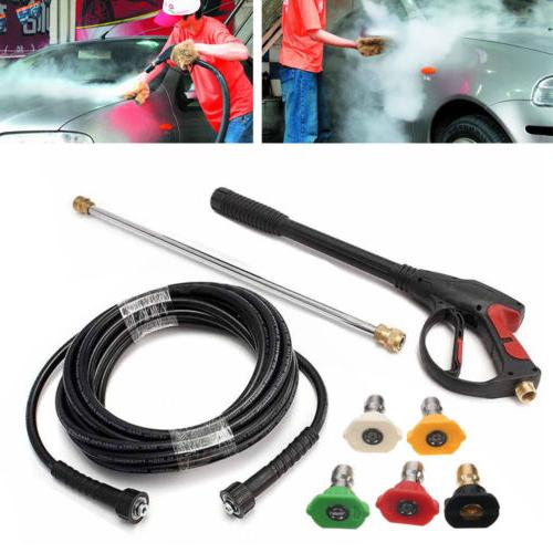 3000PSI Power Washer Spray Wand/Lance Nozzle Kit