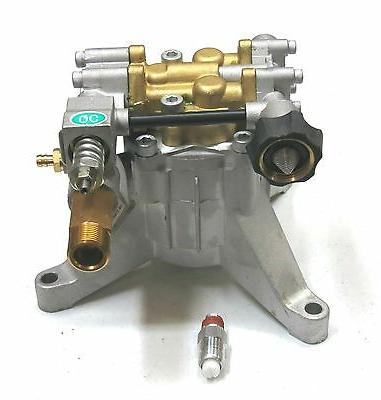 New 3100 PSI 2.5 GPM POWER PRESSURE WASHER WATER PUMP - 7/8""