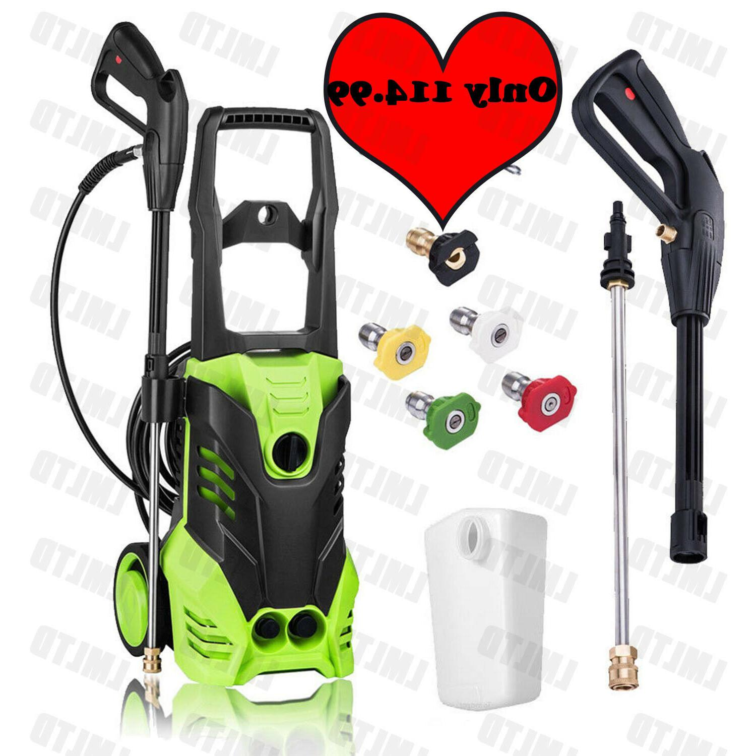 3600PSI 2.8Gpm Electric Pressure Power Washer