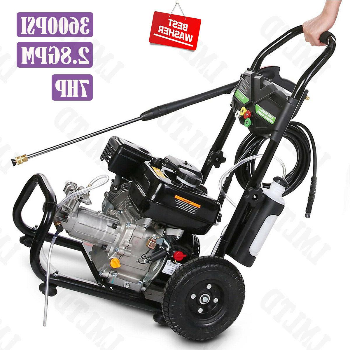 3500psi 2 4gpm electric pressure power washer